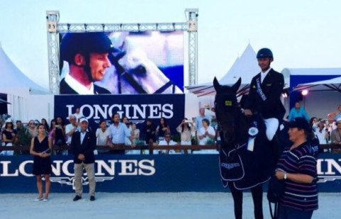 Marco Kutscher wins the 2nd edition of the Longines AOHS,  St. Tropez