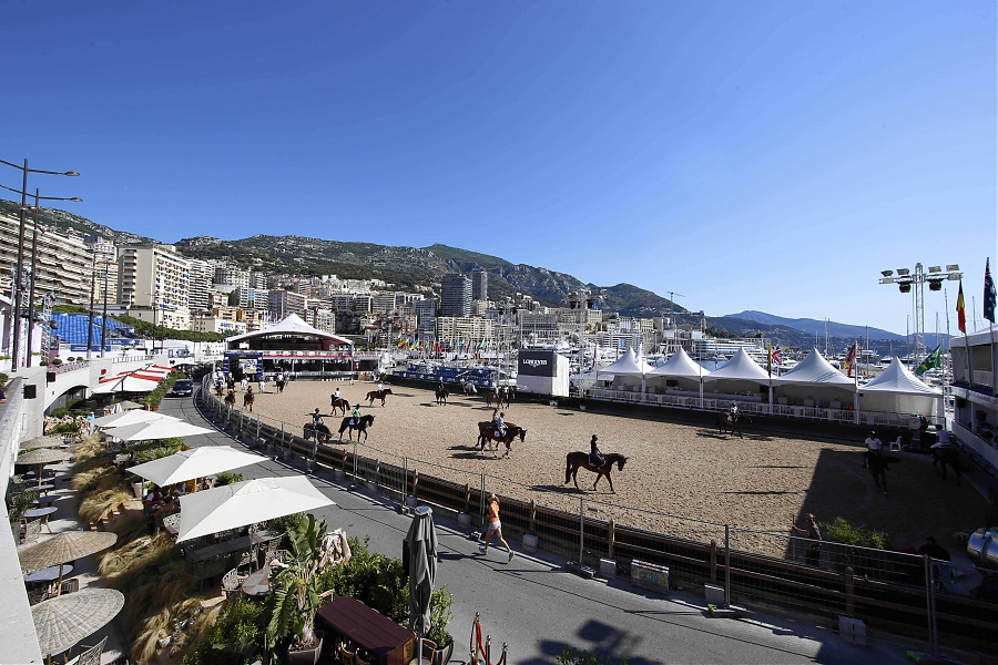 LGCT of Monaco - Day one - warming up session Stefano Grasso/LGCT