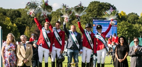 Belgium wins the Furusiyya FEI Nations Cup™ in Hickstead