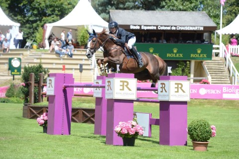Grégory Wathelet winner of the CSI5* 1m45 of the second day CSI5* Dinard