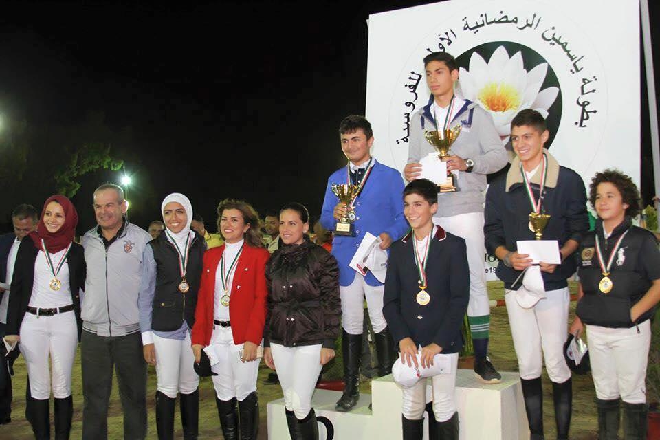 Results of the Yasmine Showjumping Tour, Nadi Al Jawad, Amman, Jordan
