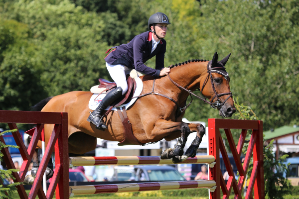 Scott Brash at the Longines Royal International Horse Show in 2013 (c) Samantha Lamb