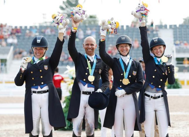 USA Wins Pan American Dressage Gold