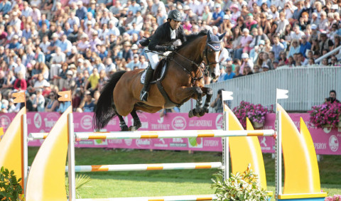 Egypt's Karim El Zoghby 5th at the big class of the second day CSI5* Dinard