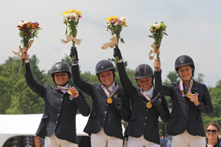 FEI North American Championships for Juniors and Young Riders 2015