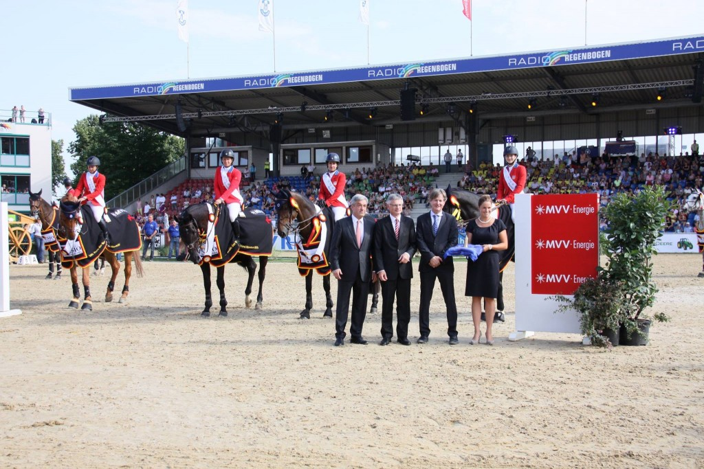 The Americans win the CSIO5* Nations Cup in Mannheim