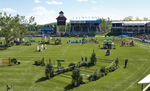 Rolex Grand Slam of Show Jumping in contention as world's finest riders head to Spruce Meadows