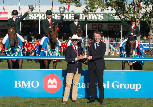 Brazil Takes $300,000 BMO Nations Cup at Spruce Meadows
