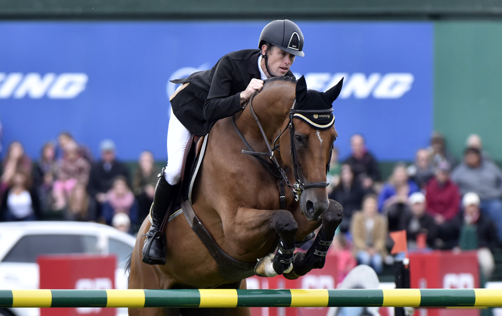Scott Brash has made history by becoming the first and only rider to win the Rolex Grand Slam of Show Jumping