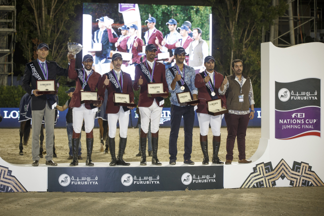 Qatar Wins Longines Challenge Cup in Barcelona