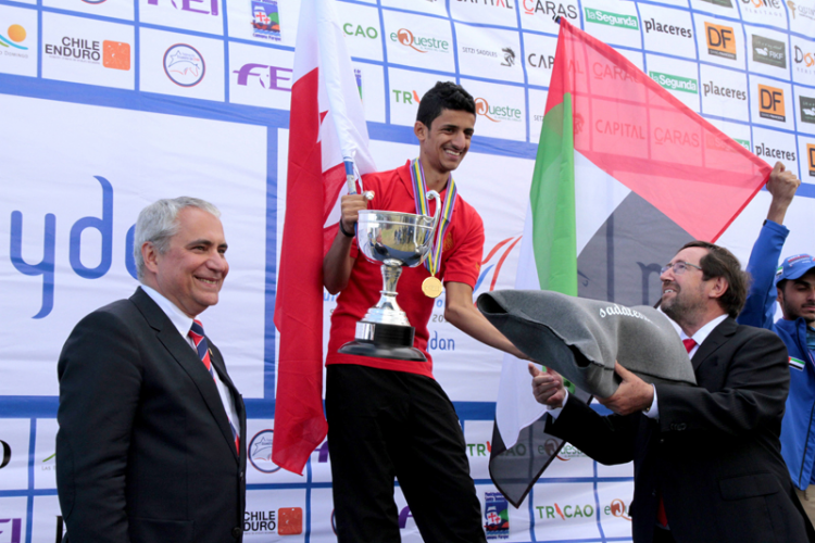 Bahrain on Top at the FEI World Endurance Championships for Juniors and Young Riders in Chile
