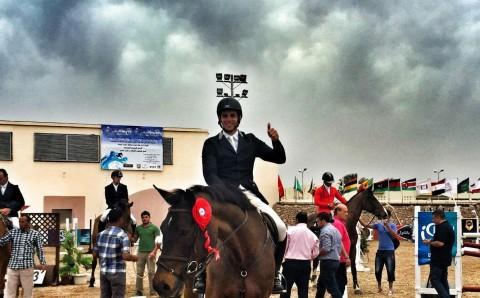 Egypt's Mohamed Medhat Sadek & Derabanta win the CSI2* Grand Prix of Sharm El Sheikh