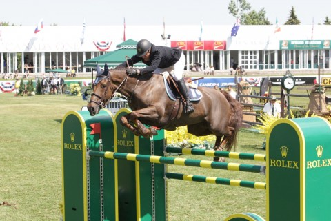 Great result for Sameh El Dahan & Suma's Zorro in CP $375,000 Grand Prix