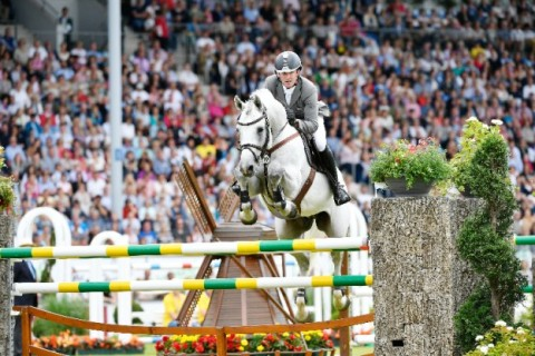 Horse Interview with the winner of the Grand Prix of Aachen : L.B Convall
