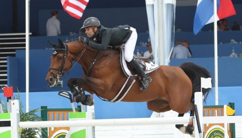 Abdel Said and California second at the CSIO5* Grand prix of GIJON