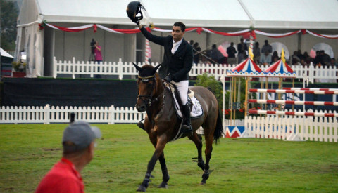 Abdel Said and Hope van Scherpen Donder wins the first 1m60 class at CSIO5* GIJON