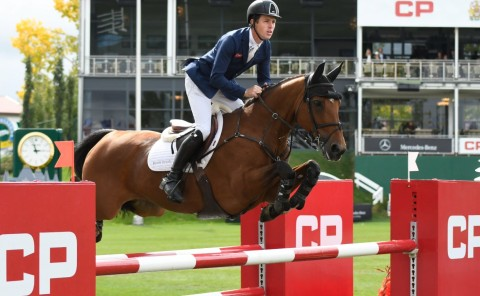 Scott Brash Repeats Victory in CP International Grand Prix, Presented by Rolex, at the Spruce Meadows 'Masters'