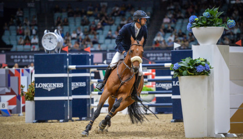 Egypt's Nayel Nassar and Lordan 2nd in the $375k CSI5* Longines Masters Grand Prix