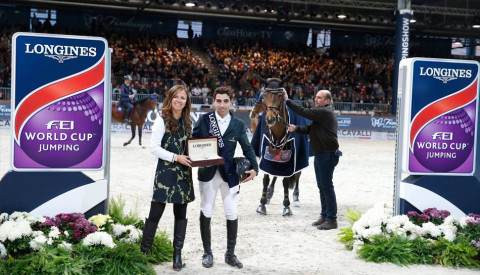 Jumping Verona, and the winner is Abdel Said