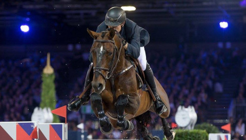 Gregory Wathelet winner of the CSI5* Longines Masters De Paris