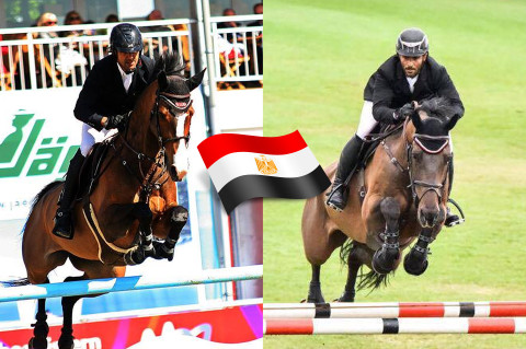El Zoghby and Mayssara Qualifies for Egypt to the FEI World Equestrian Games Tryon 2018