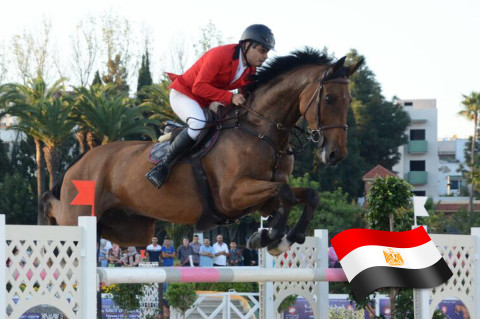 Egypt's Ismail Shaker Qualifies for the FEI World Equestrian Games Tryon 2018