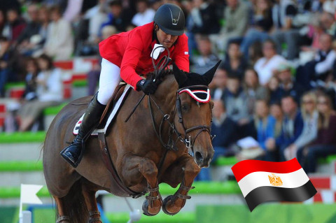 Egypt's Sameh El Dahan Qualifies for the FEI World Equestrian Games Tryon 2018