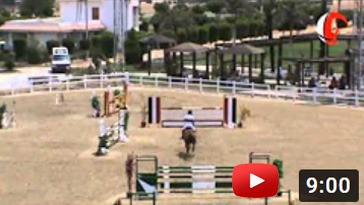 The Egyptian National Showjumping CUP 2012/2013
