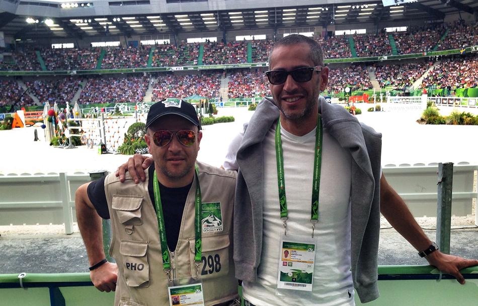 Ahmed Hussein and Adham Samir